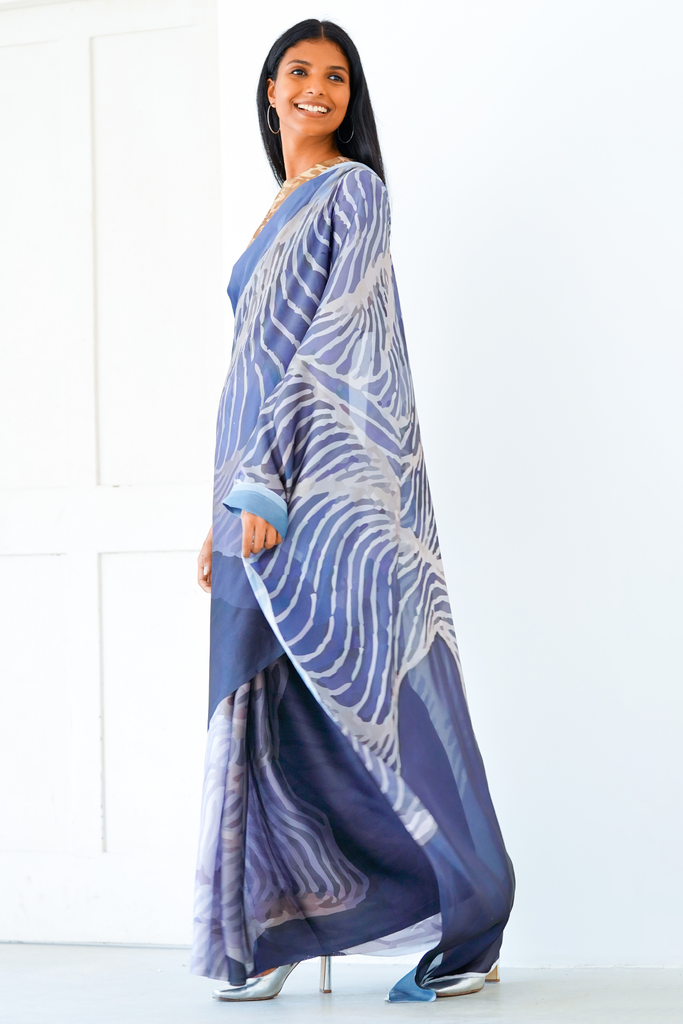 Urban Drape Midnight Skies  Saree