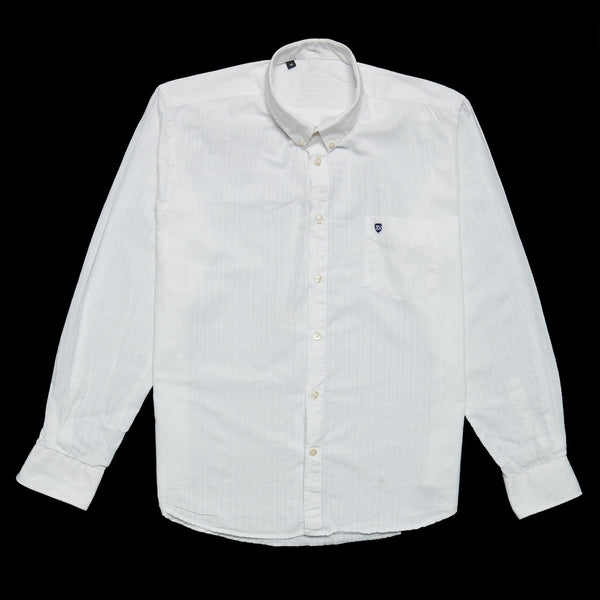 Donald Long Sleeve Shirt White