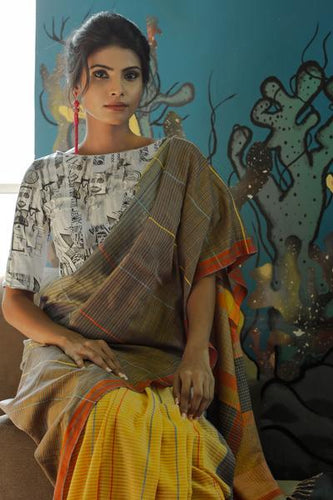 Urban Drape Stairway Wall Saree - Fashion Market.LK