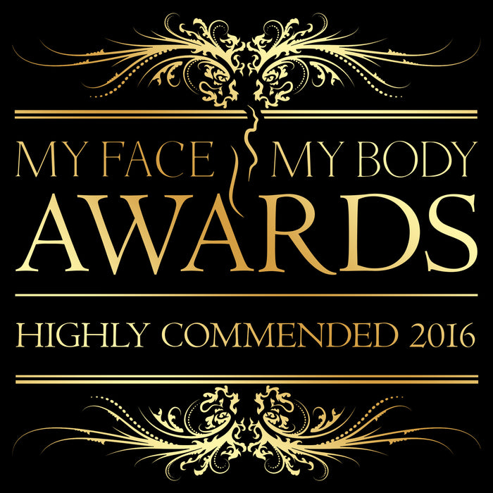 We received a highly commended award at the MyFaceMyBody Awards!