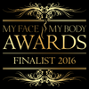 We are ONE OF THREE finalists in the My Face My Body Awards Australasia 2016 Most Innovative Service category!