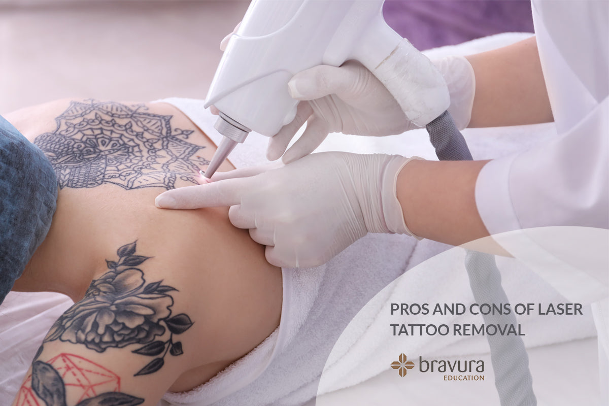 Pros and cons of laser tattoo removal