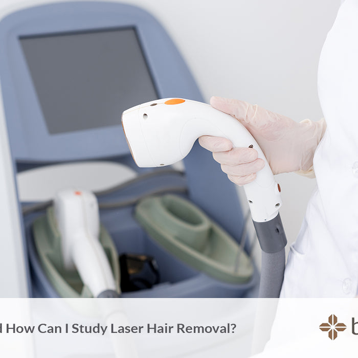 Where and how can I study laser hair removal