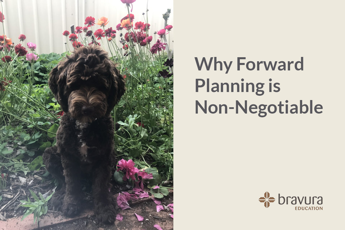 Why Forward Planning is Non-Negotiable