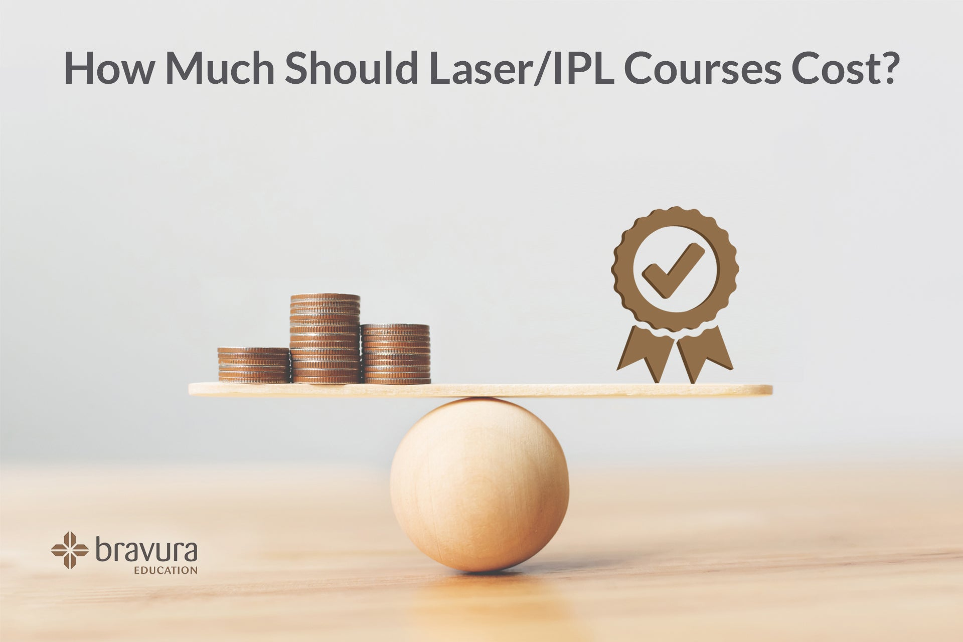 How Much Should Laser/IPL Courses Cost? 4 Steps to the Answer