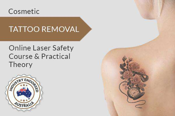 TATTOO REMOVAL Online Laser Safety Course & Practical Theory  (Cosmetic/Medical-Industry Endorsed)