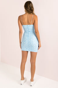 Tamika Dress / Blue