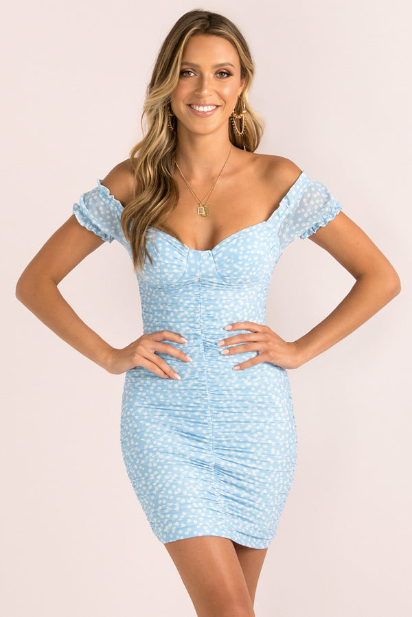 Tasha Dress / Blue