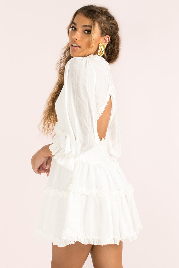 Aurora Dress / White