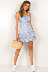 Hayden Dress / Blue
