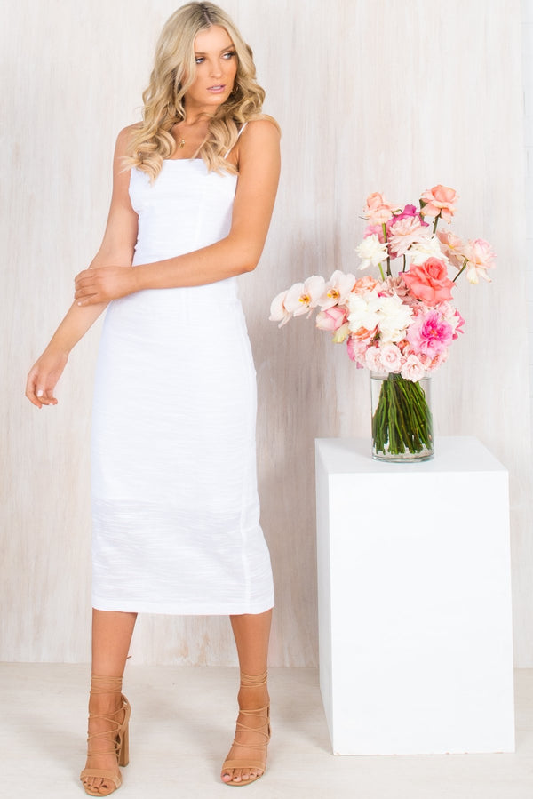 Athena Dress / White