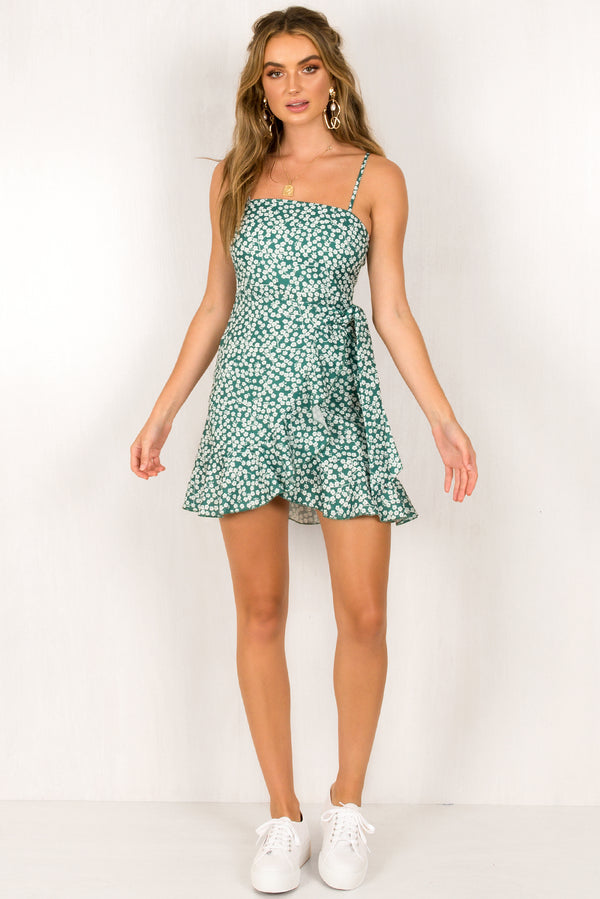 Leah Dress / Emerald