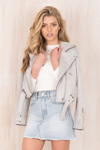 Madison Jacket / Grey