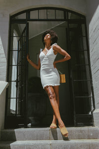 Marlee Dress / White
