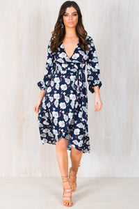 Margot Dress / Navy