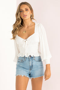 Martha Top / White