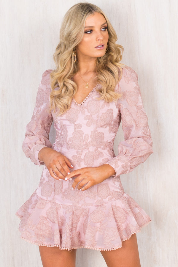 Savannah Dress / Blush