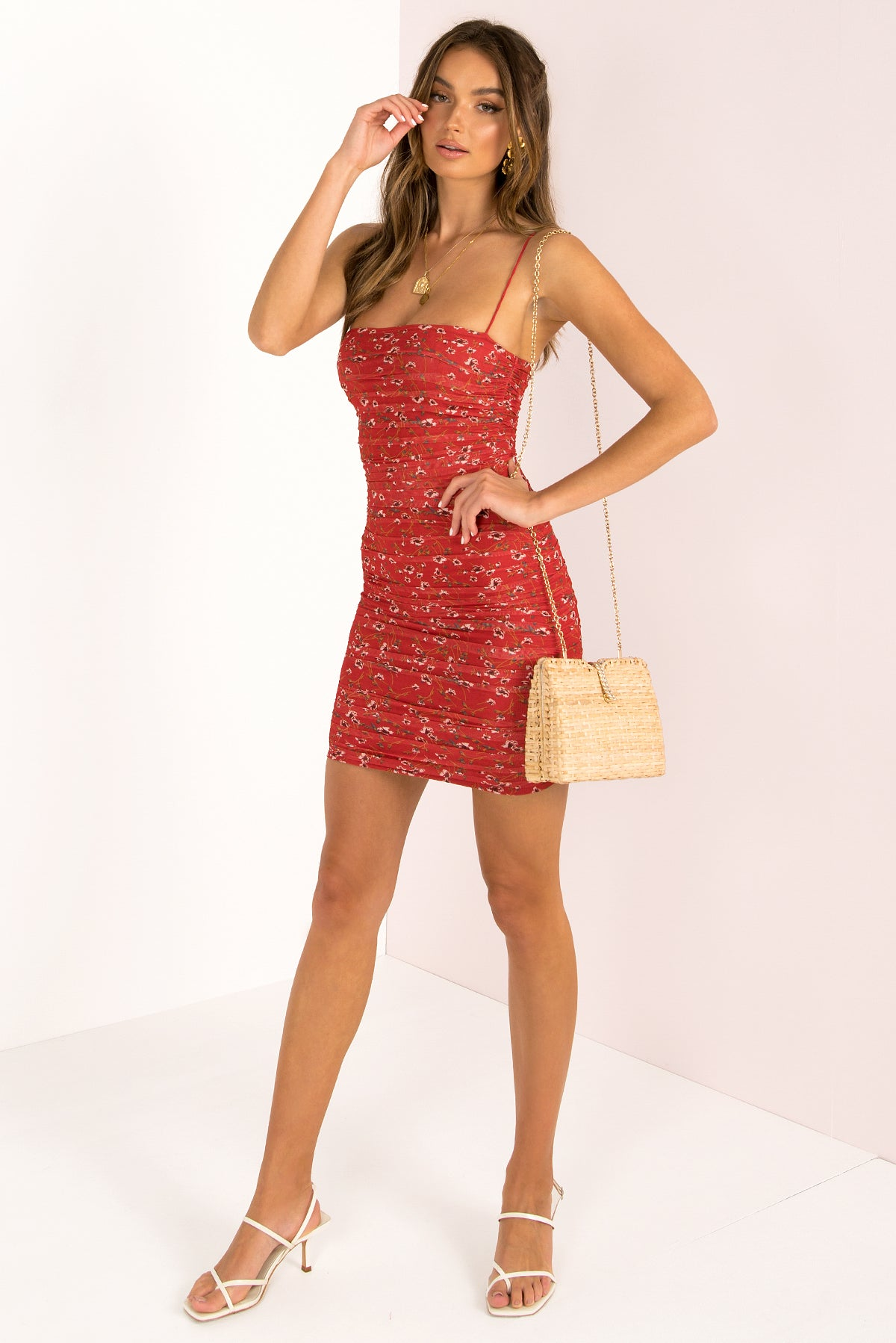 Tamika Dress / Red