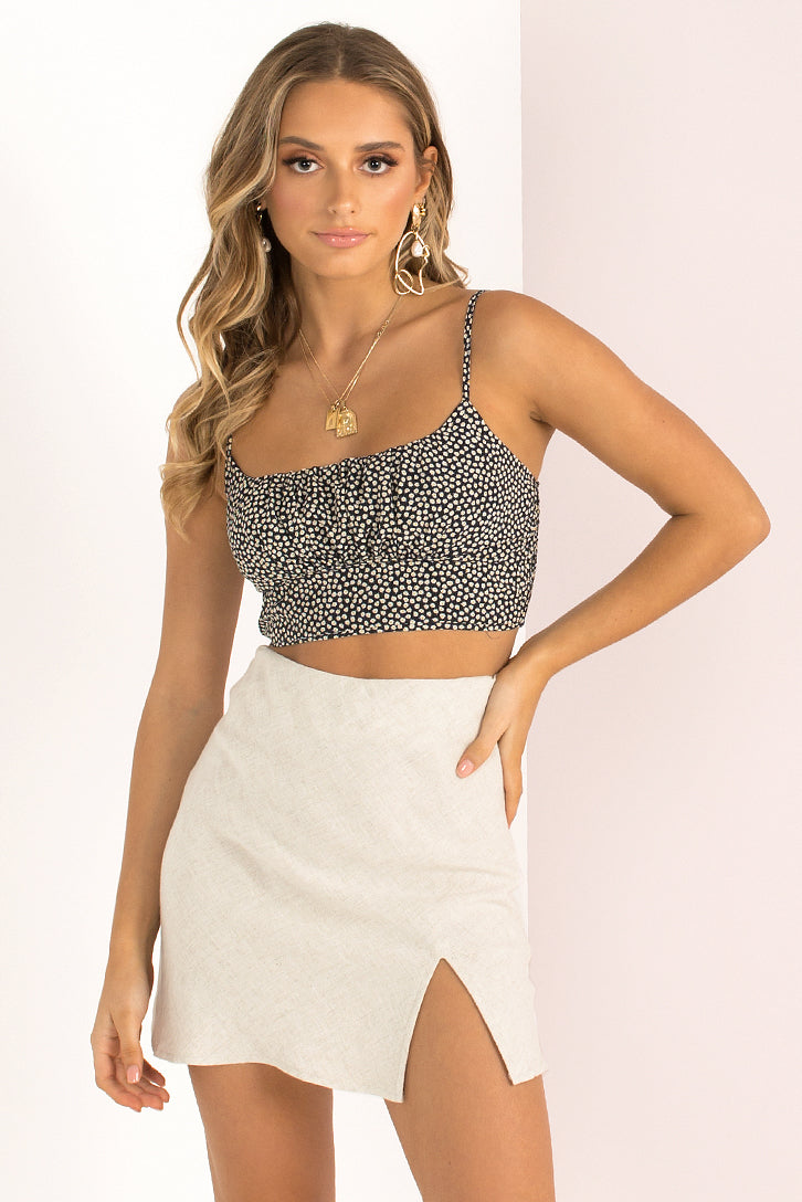 Lottie Top / Black