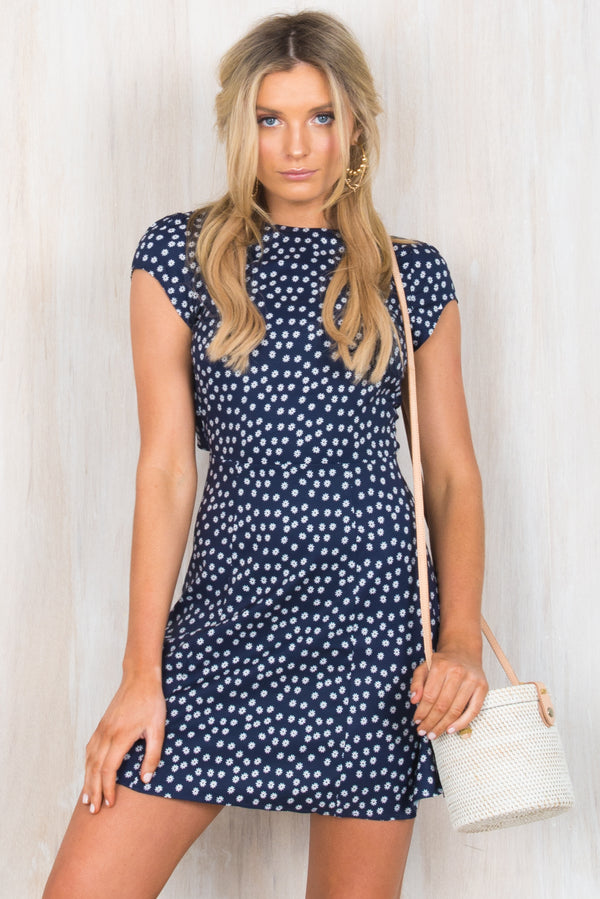 Adley Dress / Navy