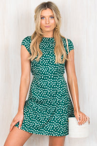 Adley Dress / Green