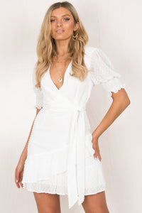 Jacinta Dress / White