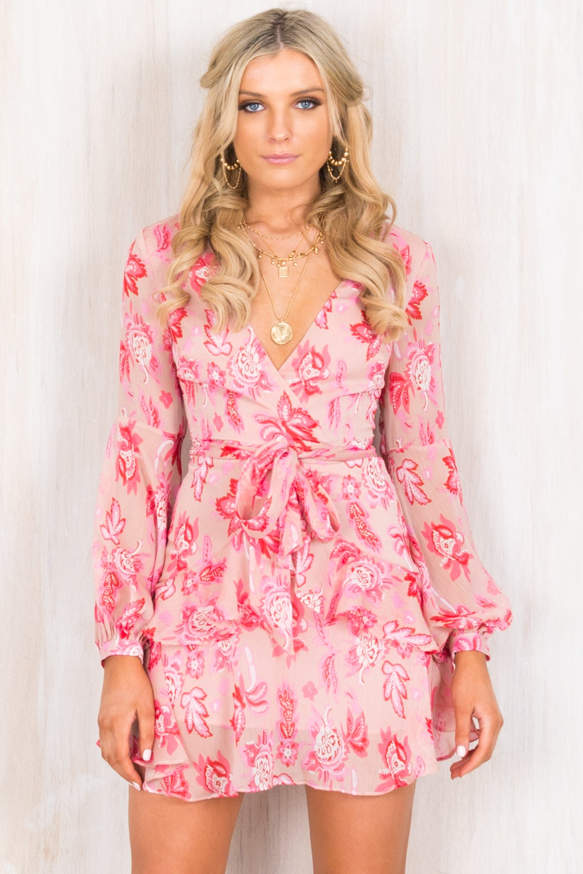 Harlow Dress / Blush