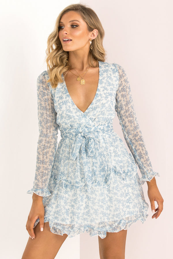 Bellini Dress / Blue