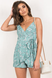 Riley Playsuit / Sage