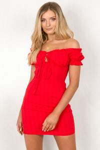 Belle Dress / Red
