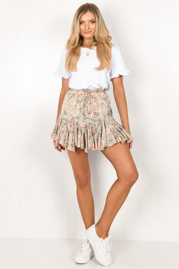 Blossom Skirt / Blush