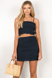 Kaylee Skirt / Navy