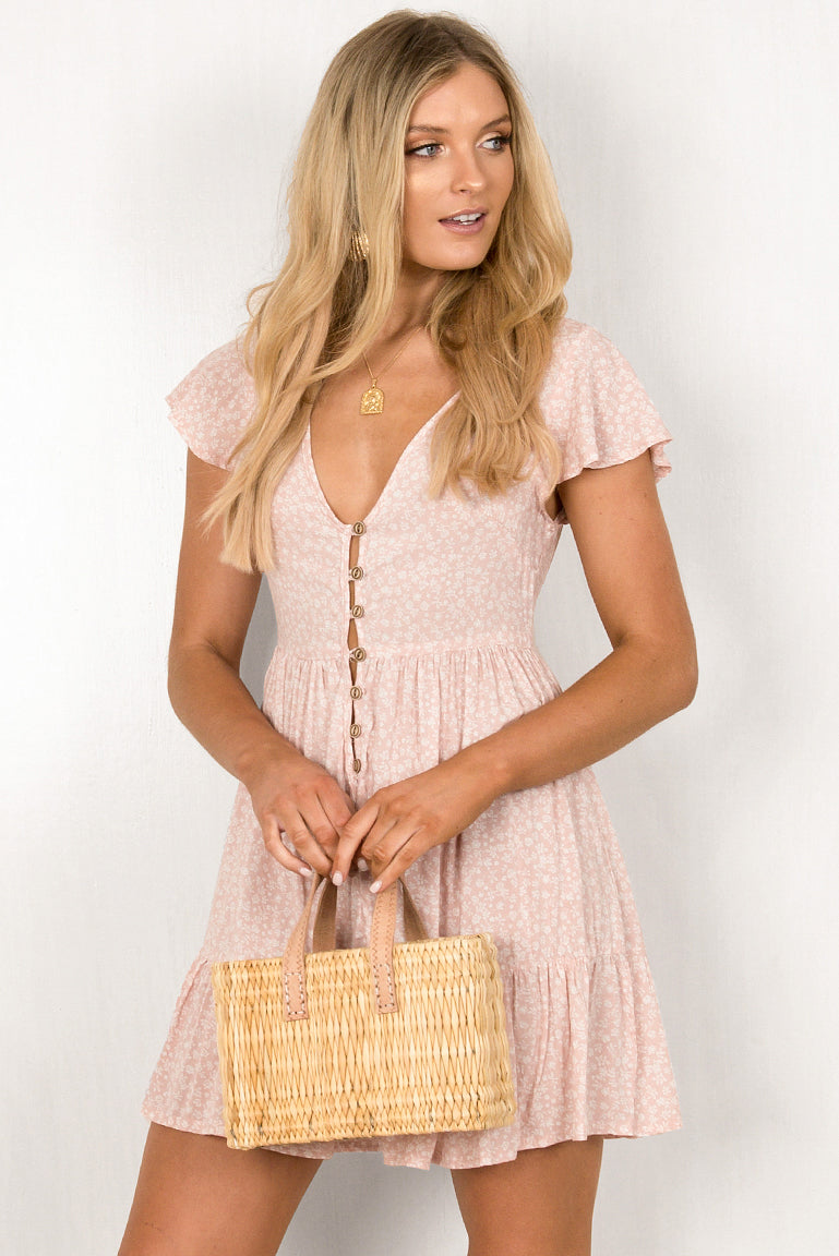 Tessa Dress / Blush