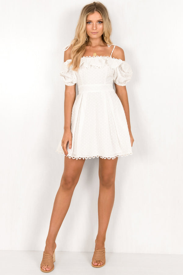 Chloe Dress / White