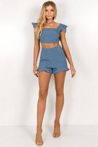 Stella Set / Blue Polka