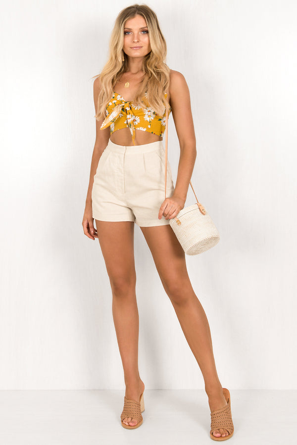 Sorrento Shorts / Beige