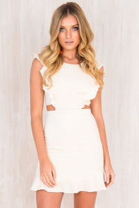 Hazel Dress / Beige