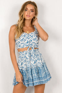Athena Top / Blue