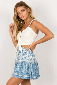 Carissa Top / White