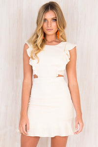 Thea Dress / Beige