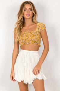 Fifi Top / Yellow