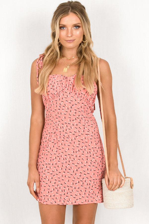 Alfie Dress / Blush