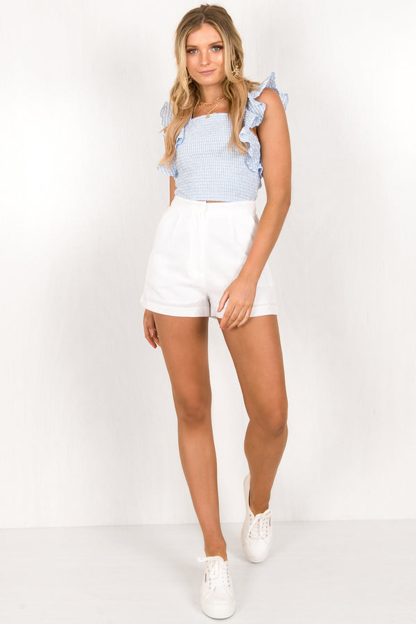 Sorrento Shorts / White