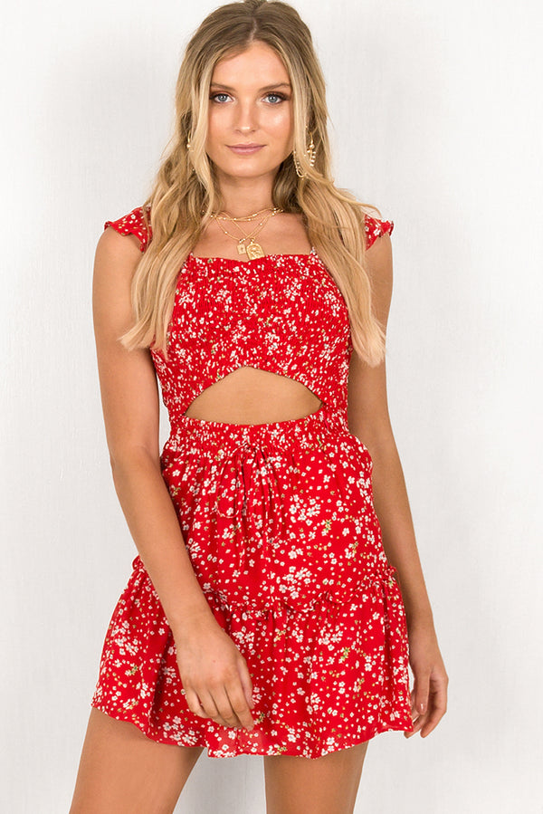 Emily Dress / Red