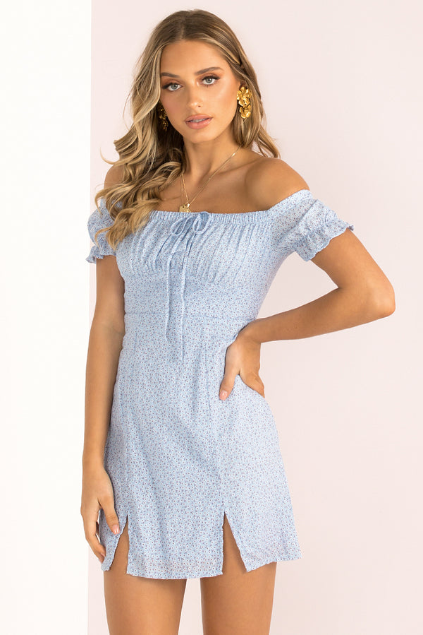 Barbara Dress / Blue