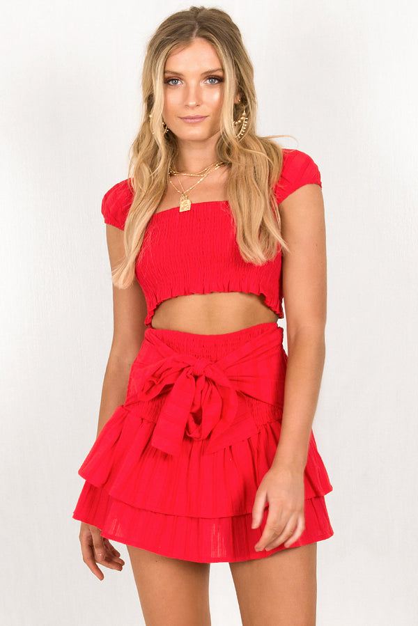 Fifi Top / Red