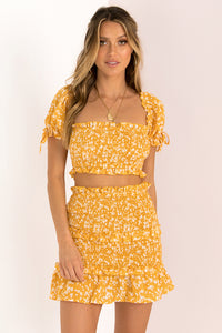 Mia Top / Yellow