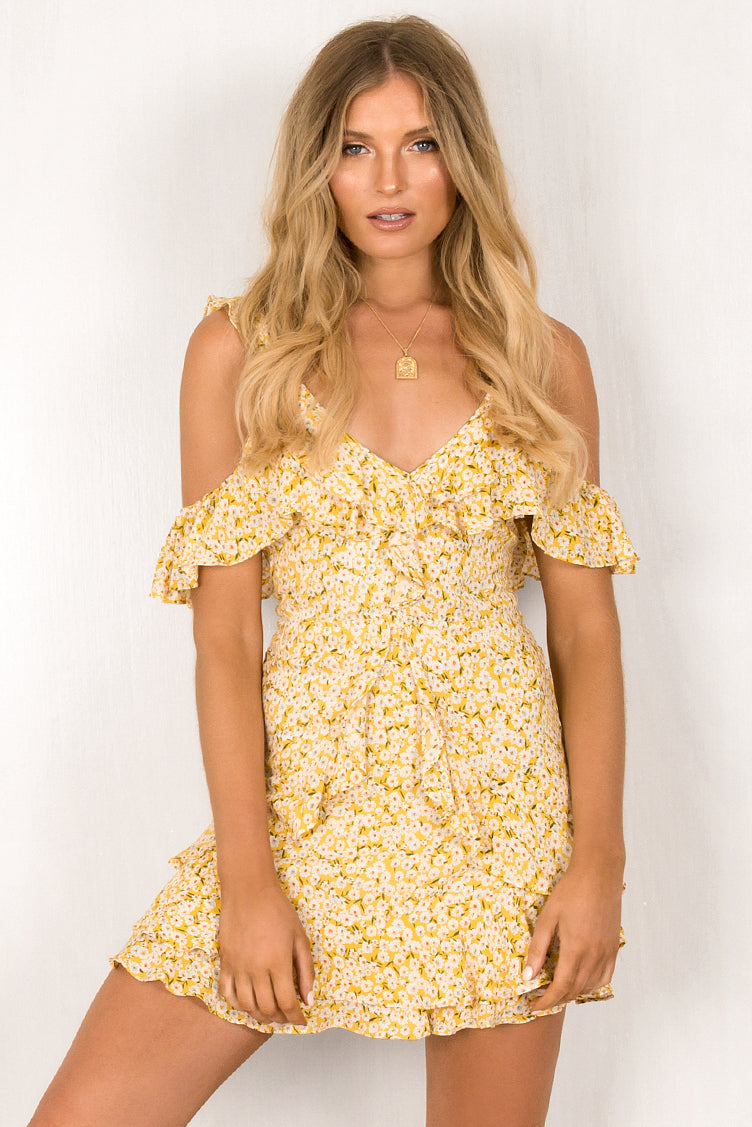 Sierra Dress / Yellow