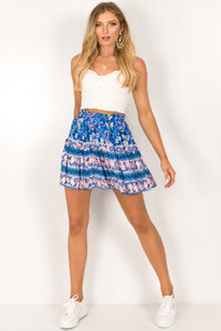Elodie Skirt / Blue