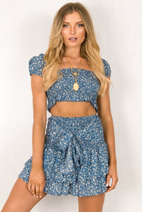 Fifi Skirt / Blue
